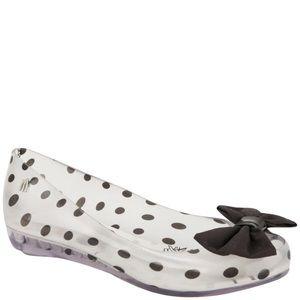 Melissa Shoes - MELISSA WOMEN'S MINNIE MOUSE ULTRAGIRL BOW BALLET